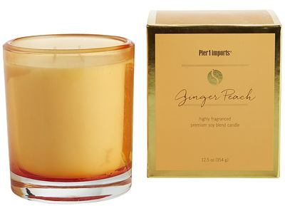 Ginger Peach® Soy Blend Boxed Candle | Pier 1 Imports