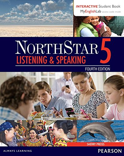 NorthStar Listening and Speaking 5 with Interactive Student Book access code and MyEnglishLab (Northstar Listening & Speaking)