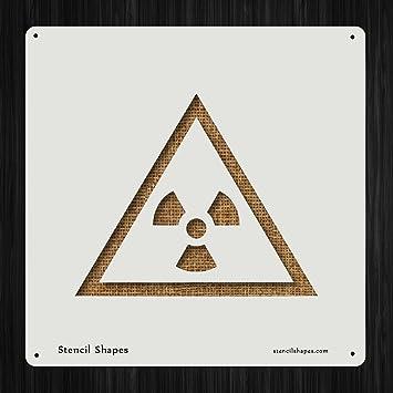 Amazon Radioactive Warning Symbols Signs Safety Style 17427 Diy