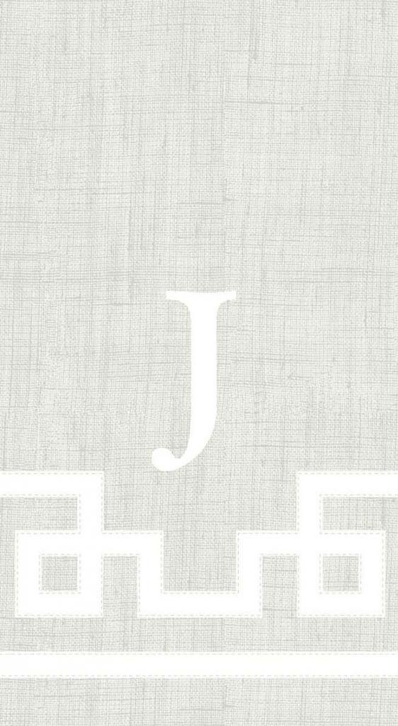 Hand Towels Guest Towels Personalized Monogram Custom Initial Party Wedding Natural 100 Pc Letter J by Caspari