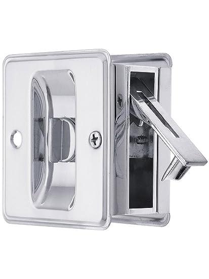 Au0027dor SL1.625 All In One Pocket Door Privacy Lock Set