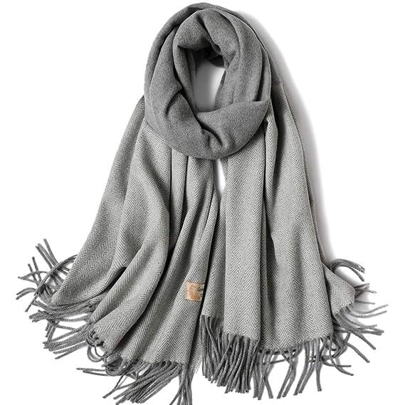 SHFJKA Femme Foulard xxl Automne Hiver Écharpe Cachemire Multicolore longue  châle Épaissi Chaud d hiver 8e8ffb1d7c6