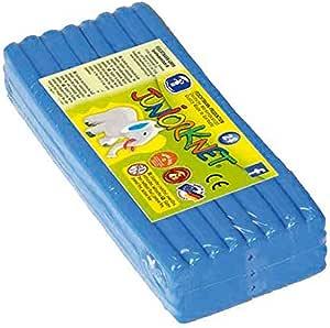 Feuchtmann Spielwaren 628.0305-8 Juniorknet - Pack de plastilina Jumbo, 500 g, Color Azul: Amazon.es: Juguetes y juegos