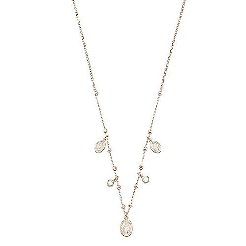 selezione migliore 806ea a86c8 Stroili - Girocollo rosario in argento 925 rosato e zirconi ...