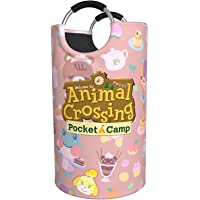 WQOIEGE Animal Cute Characters CROS-Sing Waterproof Dirty Clothes Bag Laundry Toy Storage Hamper Washing Bin Foldable…