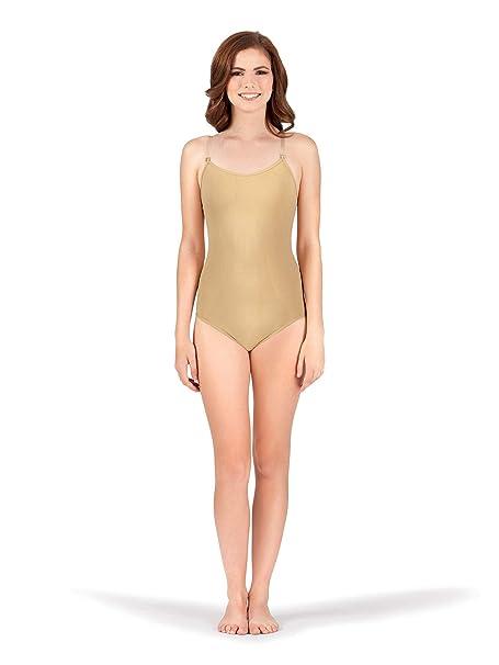 ff670c0223b Amazon.com  Adult Seamless Camisole Undergarment Leotard N234NUDXS ...