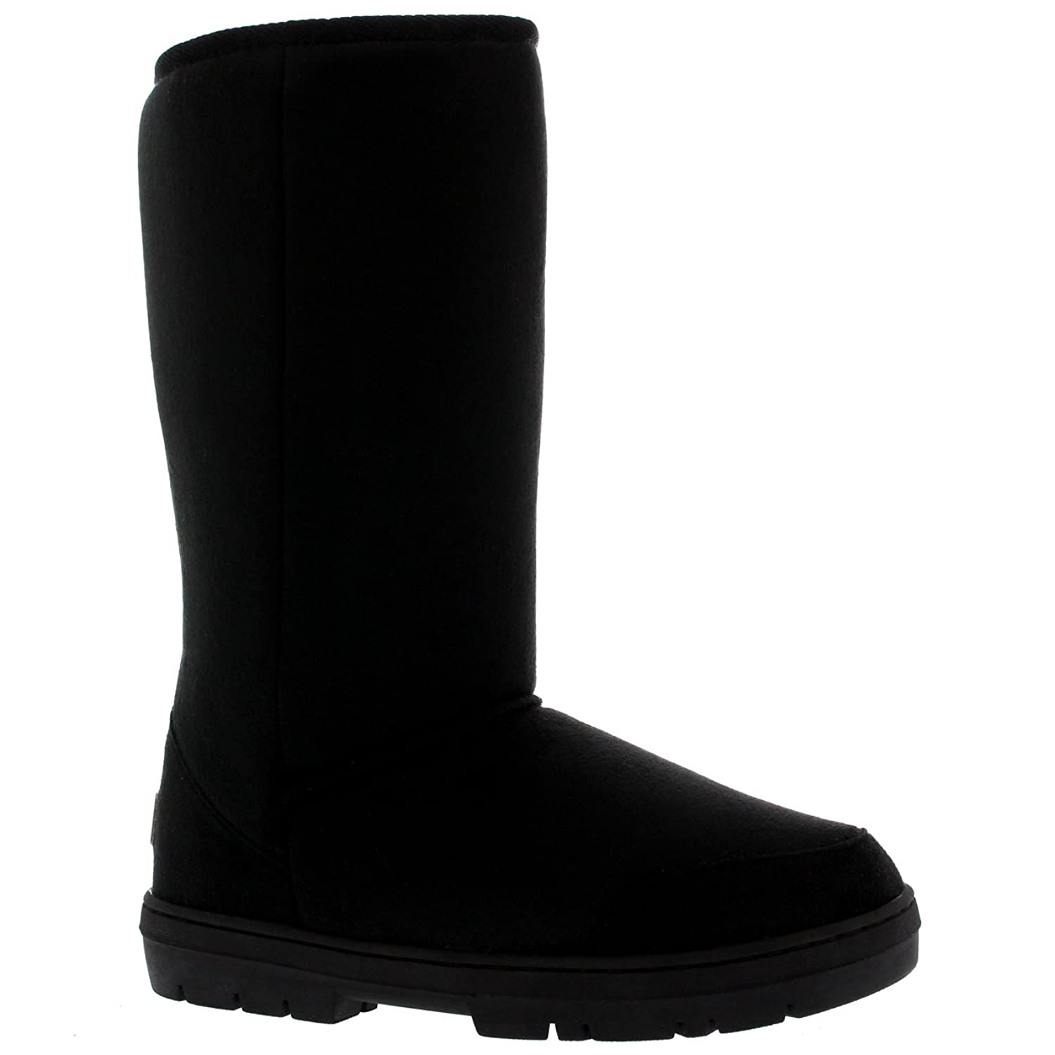 Mujer Original Short Classic Fur Lined Impermeable Invierno Rain Nieve Botas - Negro - 41 6T1fxPt5an