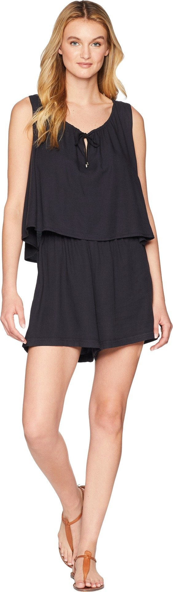 Splendid Women's Twofer Romper, Black, S