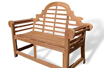 Incredible Patio Essentials Lutyens Solid Teak Garden Bench Seat 1 2M 4Ft 2 Seater Bench Engraving Beatyapartments Chair Design Images Beatyapartmentscom