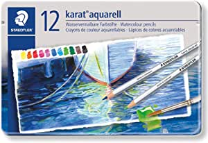 Box of 12 Colors 14410NC12 Staedtler Watercolor Pencils