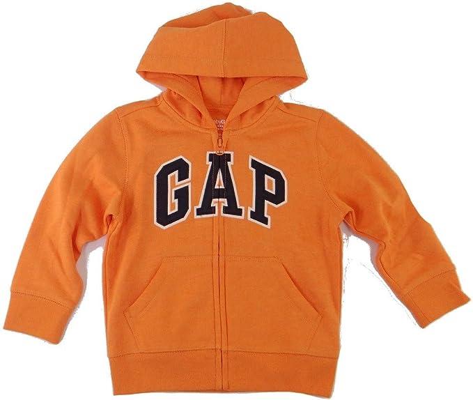 Gap Sweat shirt à capuche Uni Manches longues Garçon