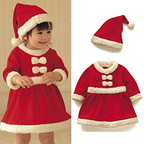 Ropa de Navidad para Papá Noel Bebé Fiesta de Navidad ...