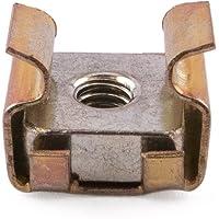 M3tuercas jaula de acero, zinc y amarillo, 0,7–1,6mm