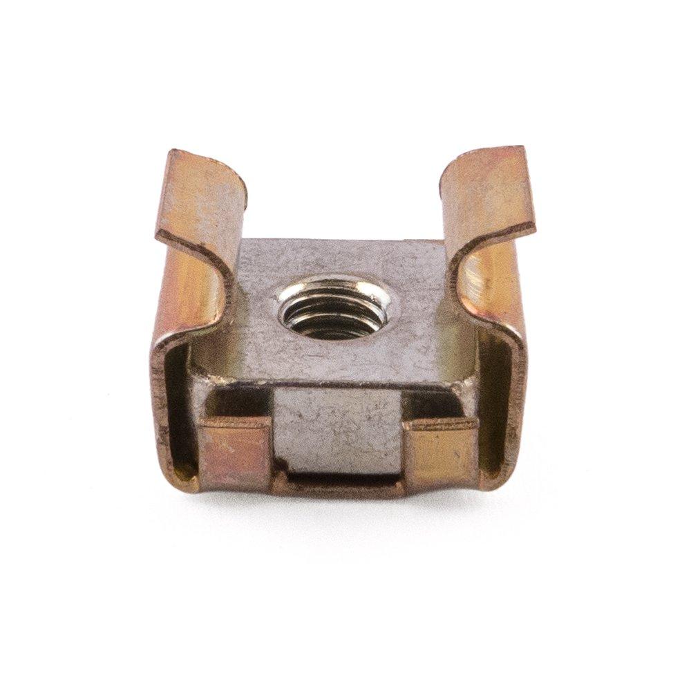 M3 Stahl Kä figmuttern, Zink und Gelb, 0,7– 1,6 mm Panel, 50 Stü ck SD Products Ltd CNYZ0010-50