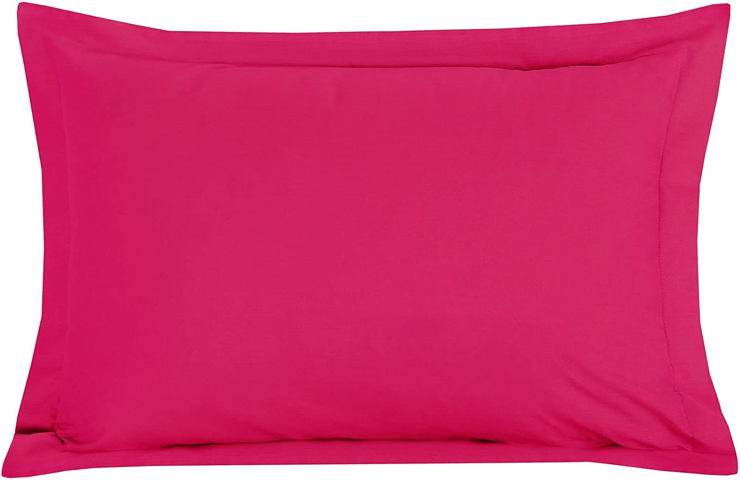 Raspberry Housewife Pillowcase Pair