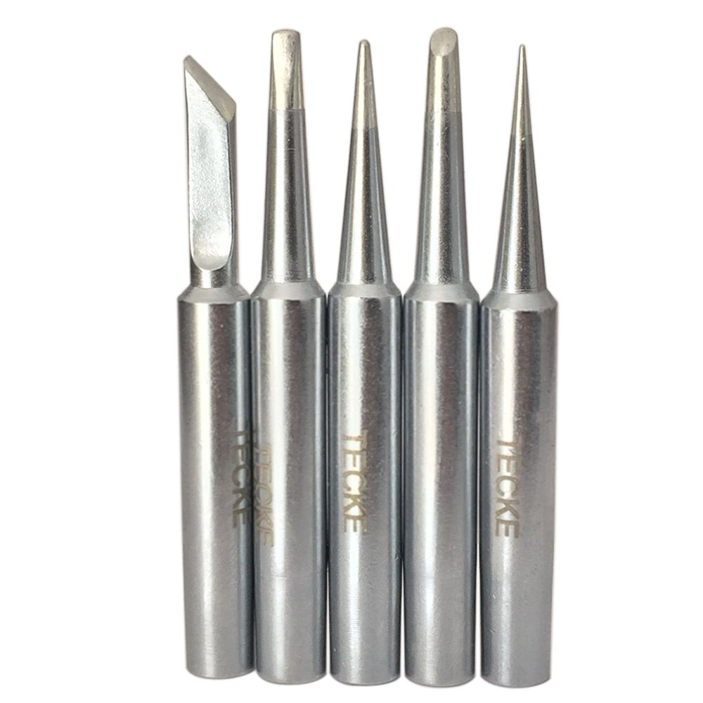 TECKE 5 PCS Weller ST Series Tip for Weller WP25, WP30,WLC100 and WP35 Irons.Ship from Canada,Fast delivery. (5 pcs ST7)