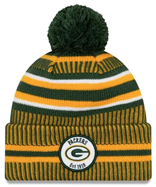 for whole family new arrival official shop New Era NFL Green Bay Packers 2019 Sideline Sport Knit ...
