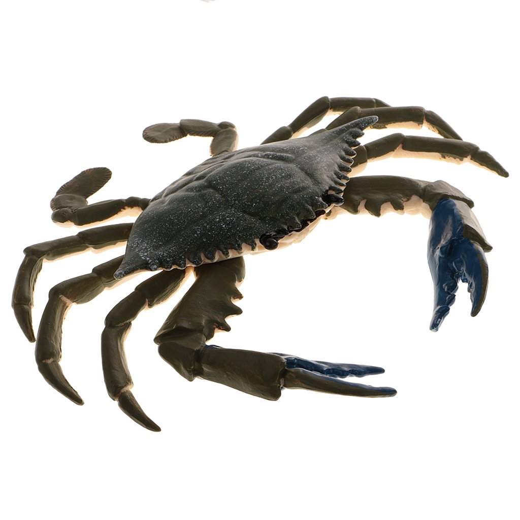 MagiDeal New Simulation Animal Model Figurine Action Figures Educational Toy - Crab