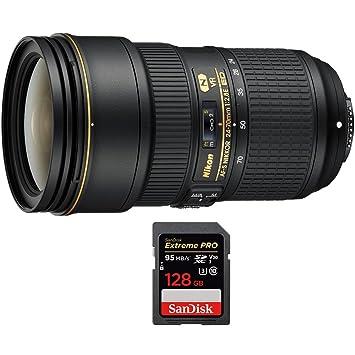 Amazon.com: Nikon 24 – 70 °F/2.8 ED VR AF-S NIKKOR lente de ...
