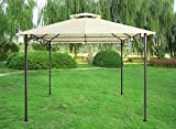 Greenbay 3x3M Pavilion Gazebo Awning Canopy Sun Shade Shelter Marquee Party Tent