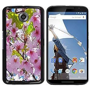 - Sun Flowers Flower Pattern - - Monedero pared Design Premium cuero del tir¨®n magn¨¦tico delgado del caso de la cubierta pata de ca FOR Google Nexus 6 & Motorola Nexus 6 Funny House