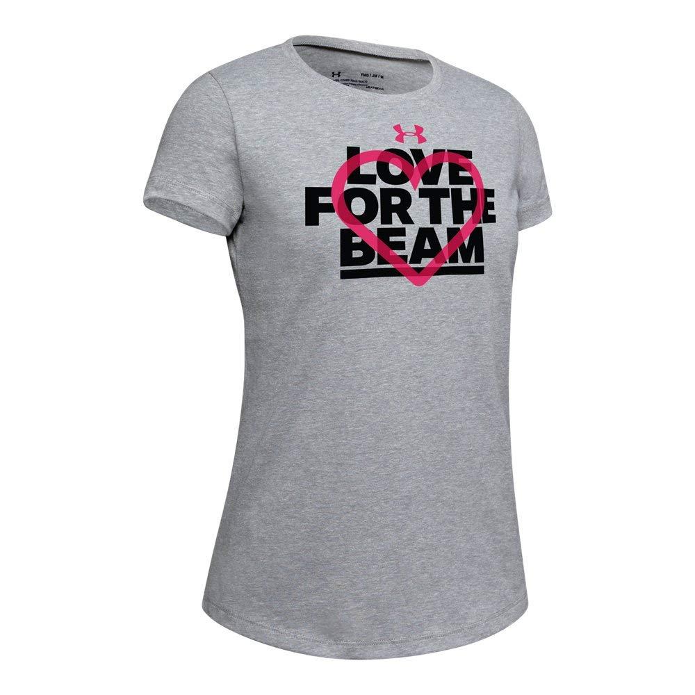 Under Armour Girls UA Love Beam Short Sleeve T-Shirt