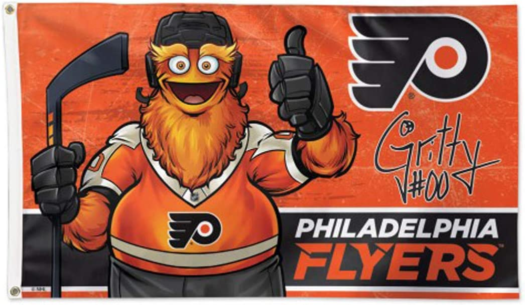 WinCraft Gritty The Mascot Philadelphia Flyers Key Ring