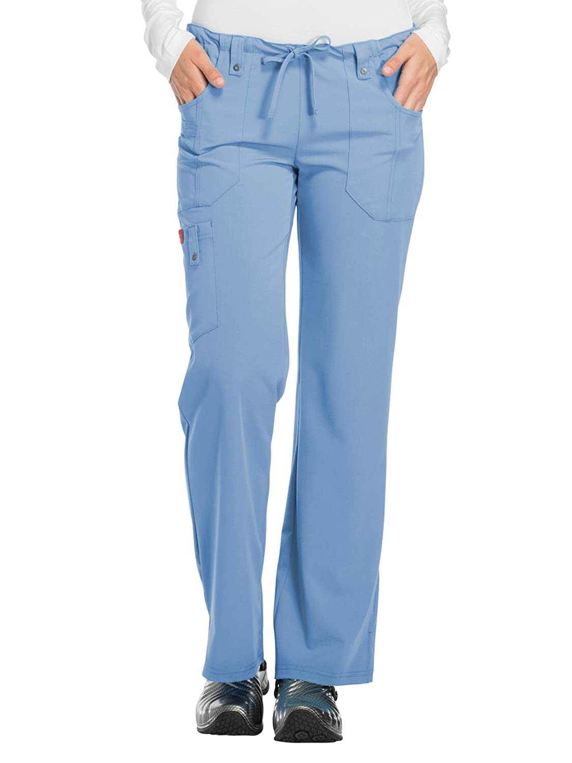 Dickies Scrubs Women's Xtreme Stretch Fit Drawstring Flare Leg Pant