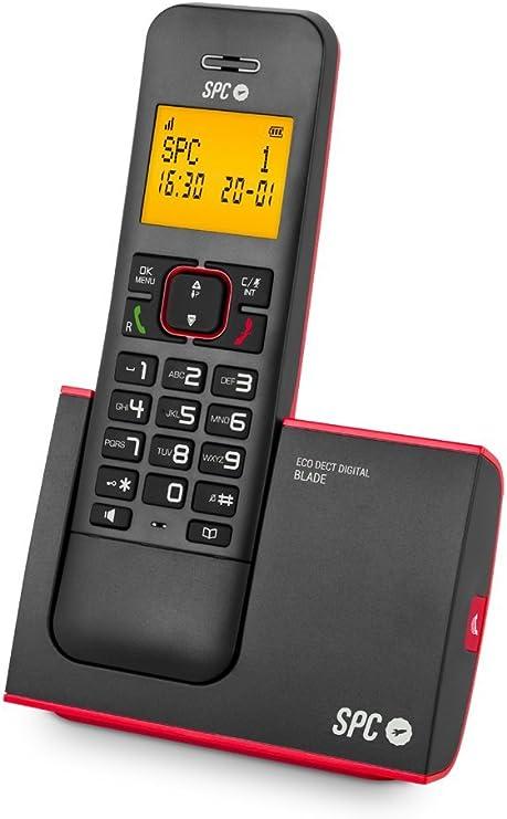 SPC Telecom Tel317290R - Teléfono Inalámbrico, Dect SPC Telecom Blade 7290, Rojo: Spc: Amazon.es: Electrónica