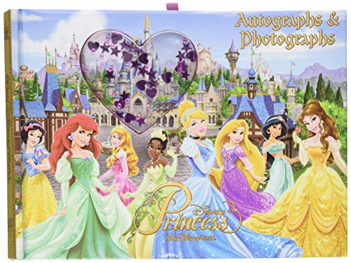 - Disney World Princess Autographs & Photographs Book