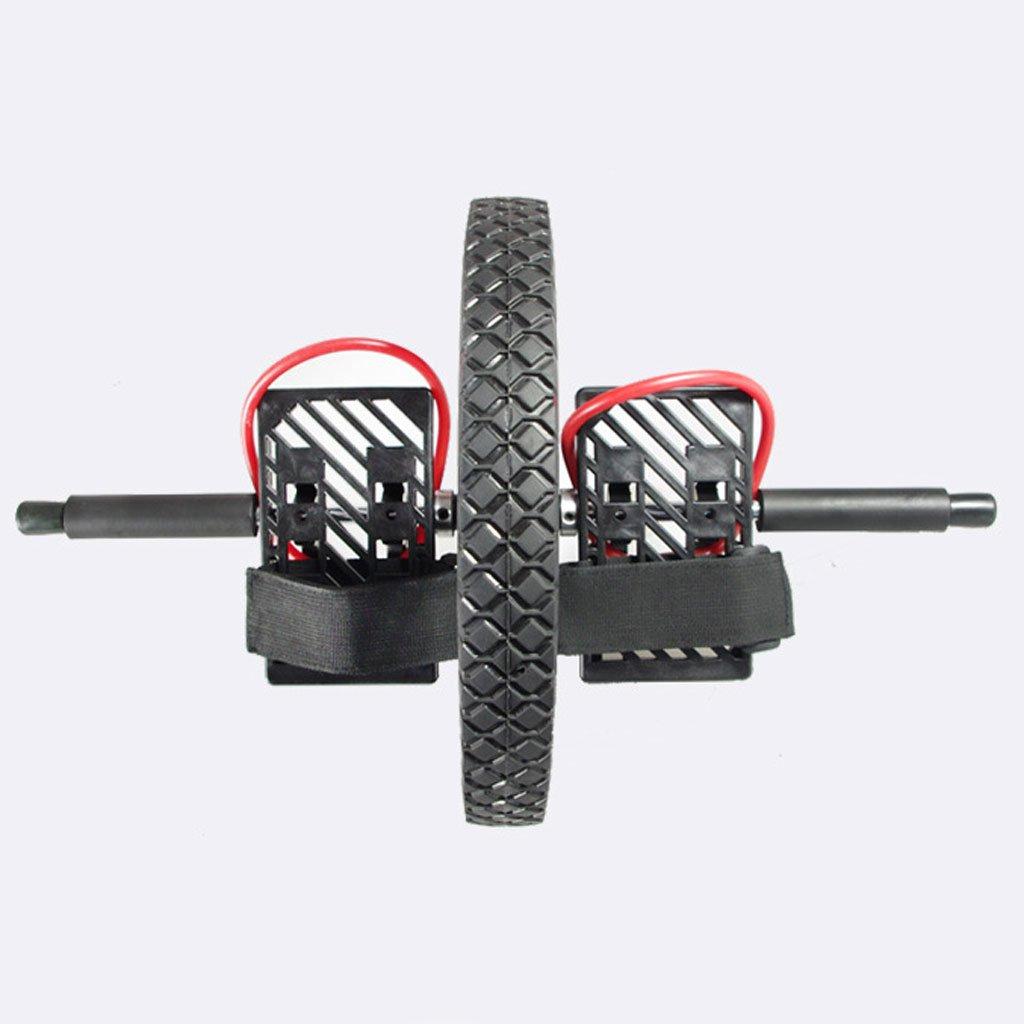 Big seller AB Roller Doppel-Bauch-Rolle Sportrad und Kniepolster mit Softgriff für Core-Fitness-Übungen für die Bauchmuskulatur. AB Roller Bauchtrainer
