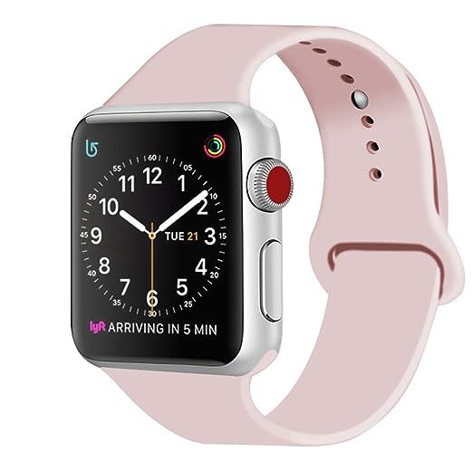 251 opinioni per ZRO Cinturino for Apple Watch, Morbido Silicone Braccialetto Sportiva di