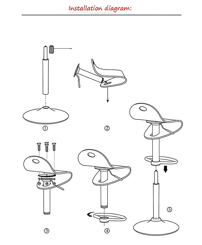 amazon hcjjbd jcrnjsb bar stools fashion simple lift acrylic Wiring a 3 6 Disconnect amazon hcjjbd jcrnjsb bar stools fashion simple lift acrylic bar chair rotatable bar stool chair can be rotated simple color 2 kitchen dining