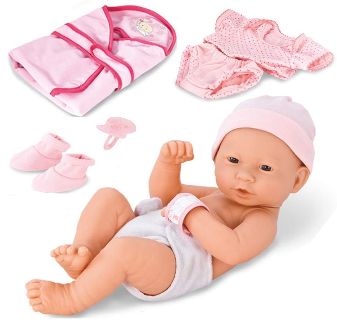 23c949f535de Amazon.com  Liberty Imports Newborn Baby Girl Doll Clothes ...