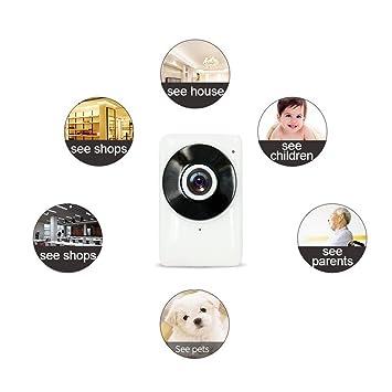 IP Nube Cámara, Wifi seguridad vigilancia sistema de seguridad inalámbrica de larga distancia de visión