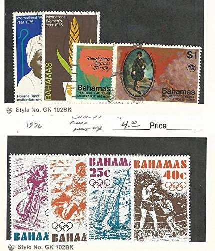 Bahamas, British, Postage Stamp, 378-9, 392-3 Used, 388-391 Mint NH, ()