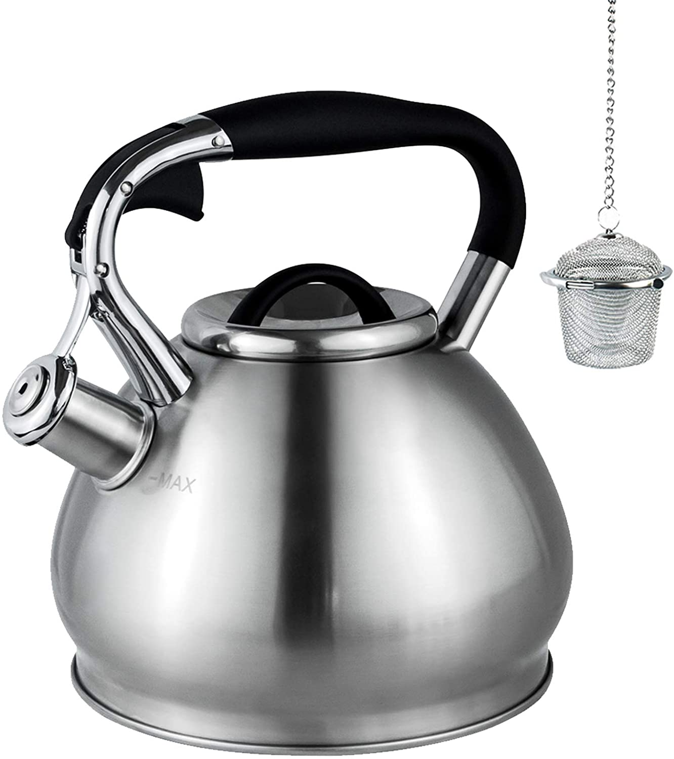 Whistling Tea Kettles Stovetop with Boils