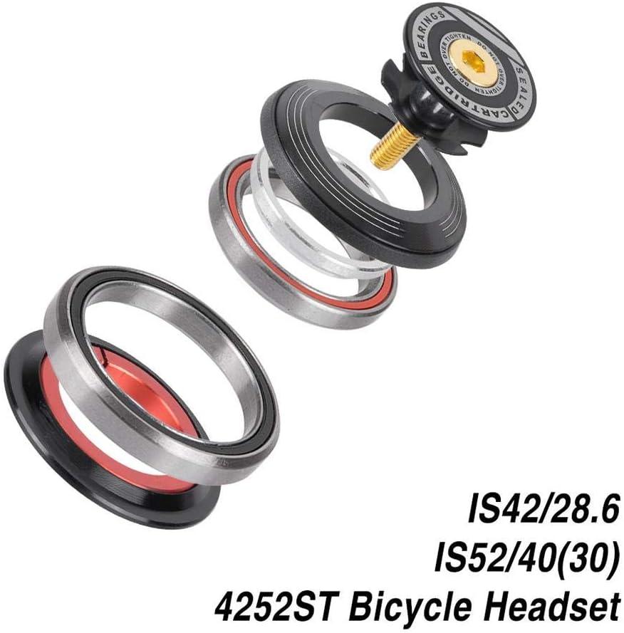 Weiyiroty Forcelle BMX in Lega di Alluminio Cuffie per Scooter Cuscinetti per Biciclette per Bici da Bicicletta