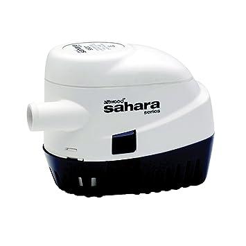 attwood sahara automatic bilge pump v g h  attwood 4505 7 sahara automatic bilge pump 12 v 500 g h
