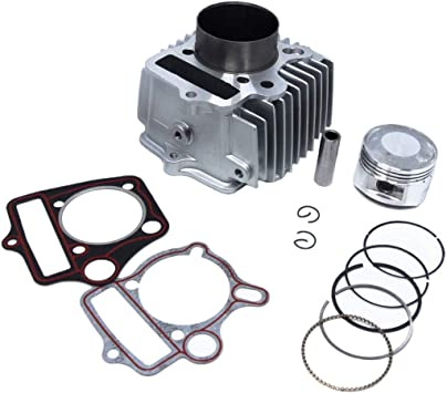 125cc 54mm 14mm ATV Quad Go-Kart Motorcycle Cylinder /& Piston Rebuild Kit