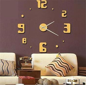 du&hl fai da te moderna orologio da parete guarda decorazione ... - Decorare Soggiorno Fai Da Te 2