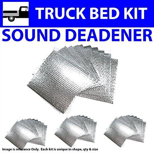 【即納&大特価】 Zirgo 313940 Heat and Deadener Sound Deadener (for 47-59 B077ZSB9CG Chevy Chevy Truck ~ Under Bed Kit) [並行輸入品] B077ZSB9CG, イズモシ:60194dc2 --- arianechie.dominiotemporario.com