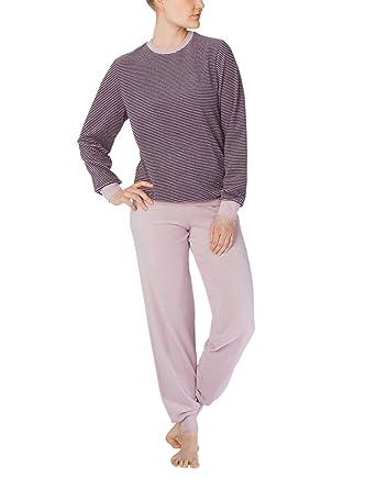 Calida Elisabetta, Ensemble de Pyjama Femme, (Lupine Mauve 314), 38 (Taille du Fabricant: X-Small)
