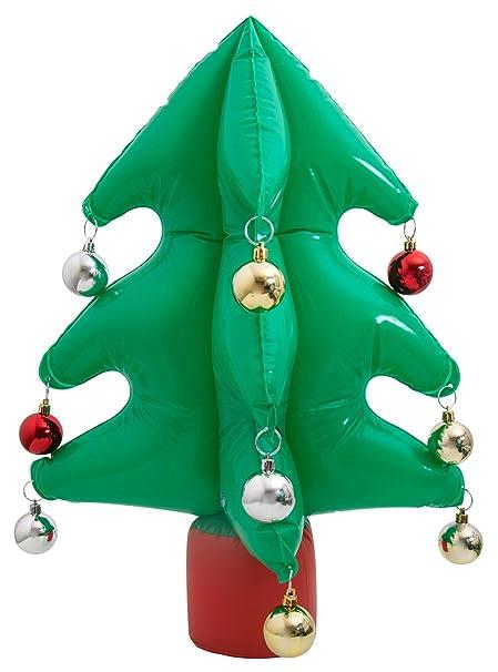 thumbsUp. Hinchable Árbol de Navidad, plástico, Verde, 45 x 16.8 x ...