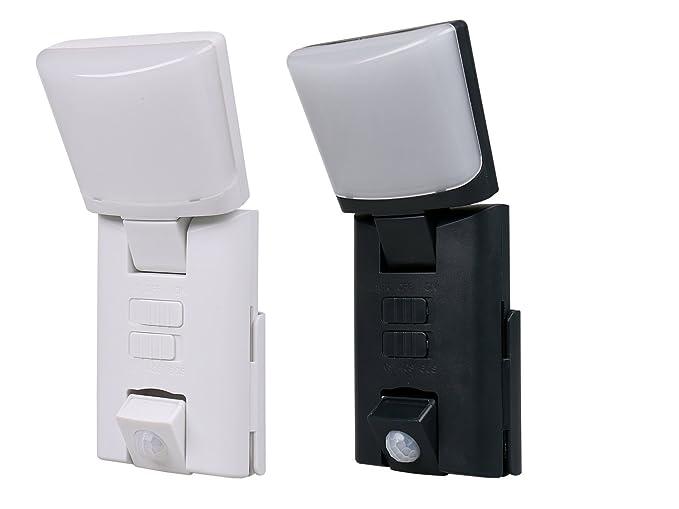 Juego de 2 portátil LED Outdoor Noche luces/Orientación luces con detector de movimiento 1