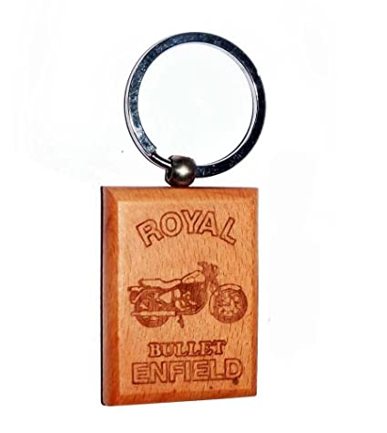 Enfield County Royal Enfield Llavero de Madera para Royal ...