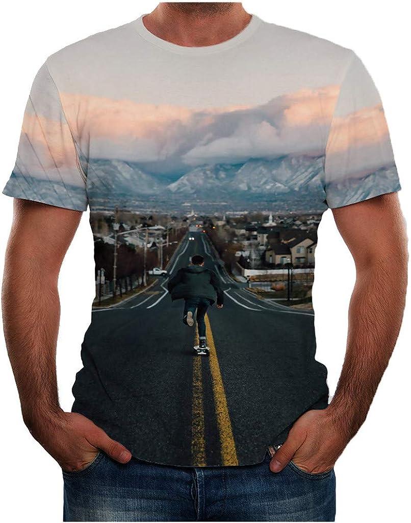 Camiseta para Hombre MISSWongg Poliéster Cuello Redondo ...