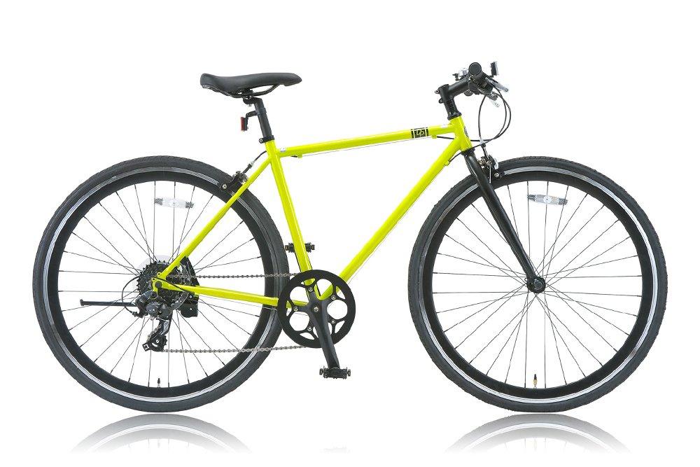 DP780(ディーピー780) 700Cクロスバイク シマノ8段変速 DP-708M(480mm) LIME GREEN (2015) B00W9O4E84