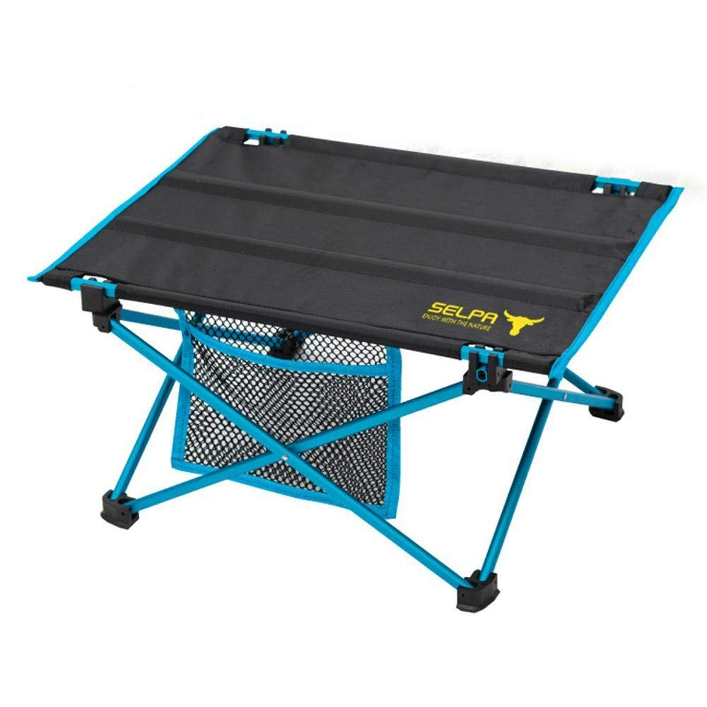 Mzl Outdoor Mini Folding Table Light Picnic Table Aluminum Bed Computer Table Life Waterproof (Easy to Install)