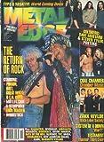 Metal Edge Magazine December 1999 Poison, Testament, Iron Maiden